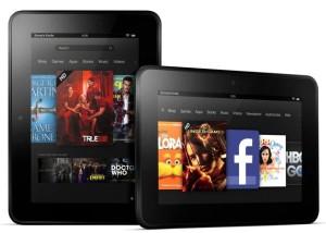 Fire HD tablets