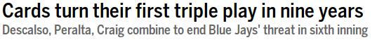 St Louis Triple Play Headlines 2014-06-07