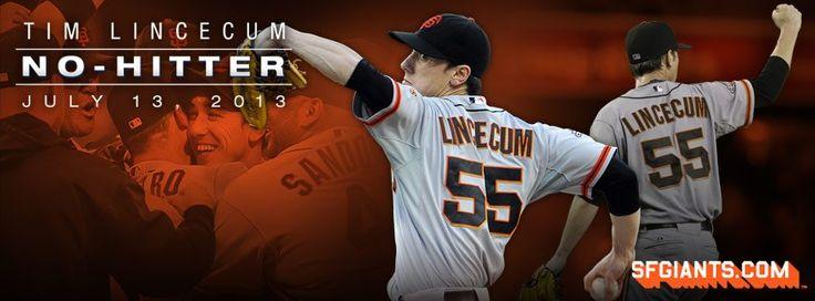 Tim Lincecum 2nd No-Hitter