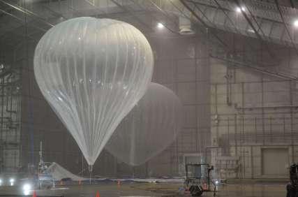 Google Project Loon Nighthawk Balloon