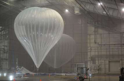 Google Project Loon Nighthawk Balloon