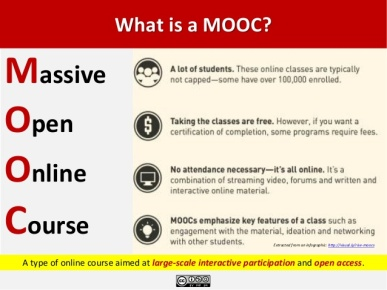 MOOC's - What is One