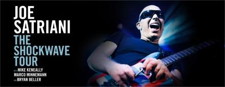 Satriani 2015 Tour