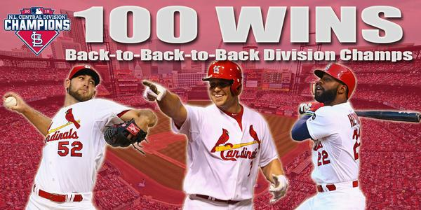 Cards 100 wins