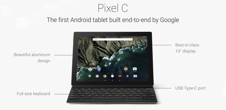 Pixel C Features