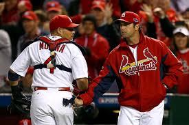 Mike Matheny with Molina