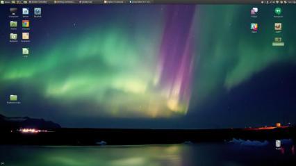 Linux Mint 18.1 Desktop