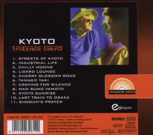 Kyoto - Tangerine Dream (back cover)