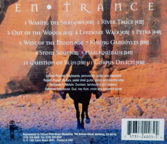 EnTrance CD Back