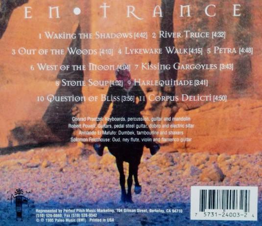 EnTrance CD Back